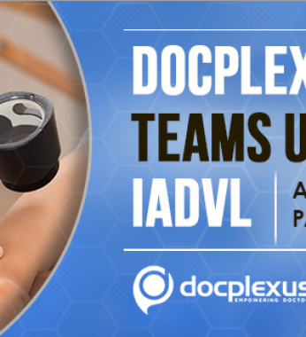 Docplexus Partners with Indian Association of Dermatologists, Venereologists and Leprologists (IADVL)